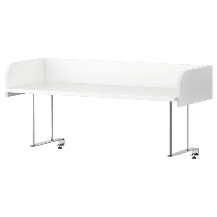 ikea 365 glass clear glass tops shelves and desks. Black Bedroom Furniture Sets. Home Design Ideas