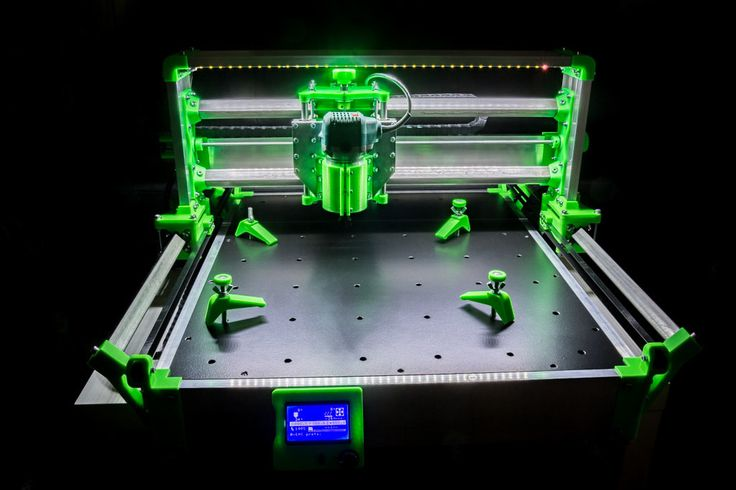 R-CNC+,+the+new+cheap+printable+CNC+milling+machine+by+RoMaker.