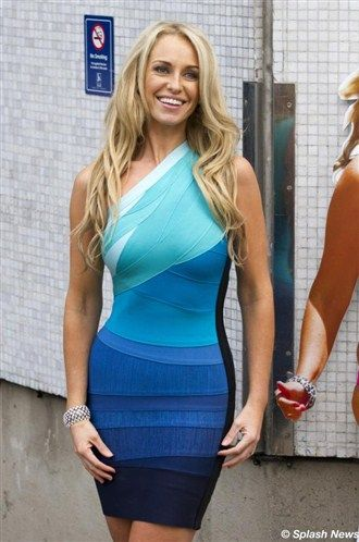 Josie Gibson was showing off her amazing figure outside the ITV studios following a guest appearance on 'Loose Women'.