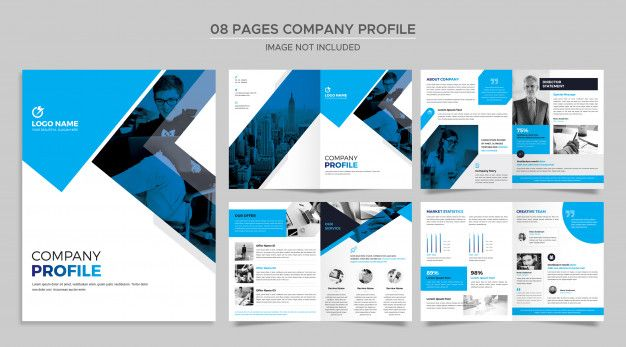 Pages Company Profile Template In 2020 Company Profile Template Company Profile Letterhead Business