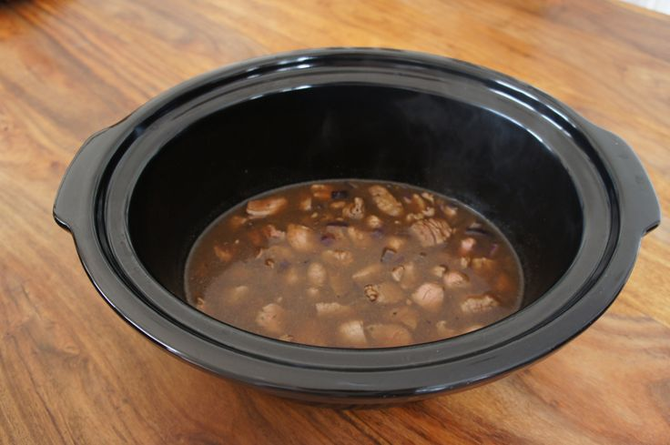 Steak Pie Filling, can be used for pies or as a filling for cottage pie.  From Slow Cooker Crock Pot Recipes App