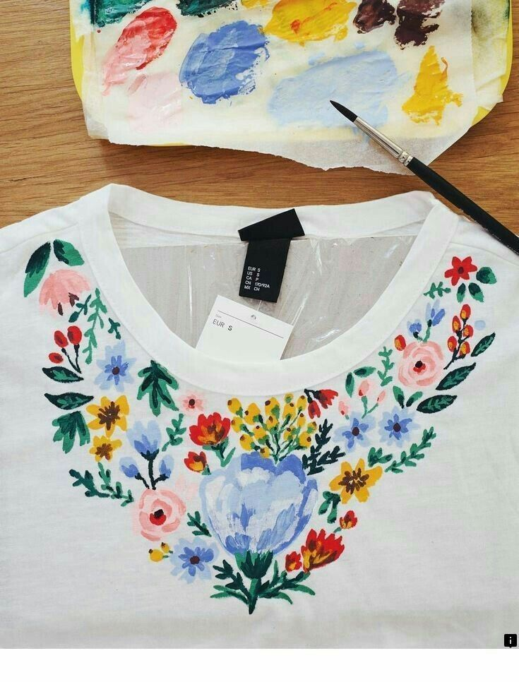 Pin By Snehpreet Kaur On Fabric Paint Designs T Shirt Painting