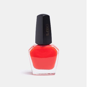 Odeme Nail Polish Cuba Libra: The Odeme debut nail polish collection features seven glamorous signature shades, each in a smooth-applying, long-lasting formula. Cuba Libre is a riotous shade of orange-infused poppy red.