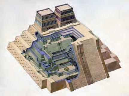 Tiny image: Templo Mayor (Main Temple). Tenochtitlan (modern Mexico City, Mexico). Mexica (Aztec). 1375–1520 C.E. Stone (temple)