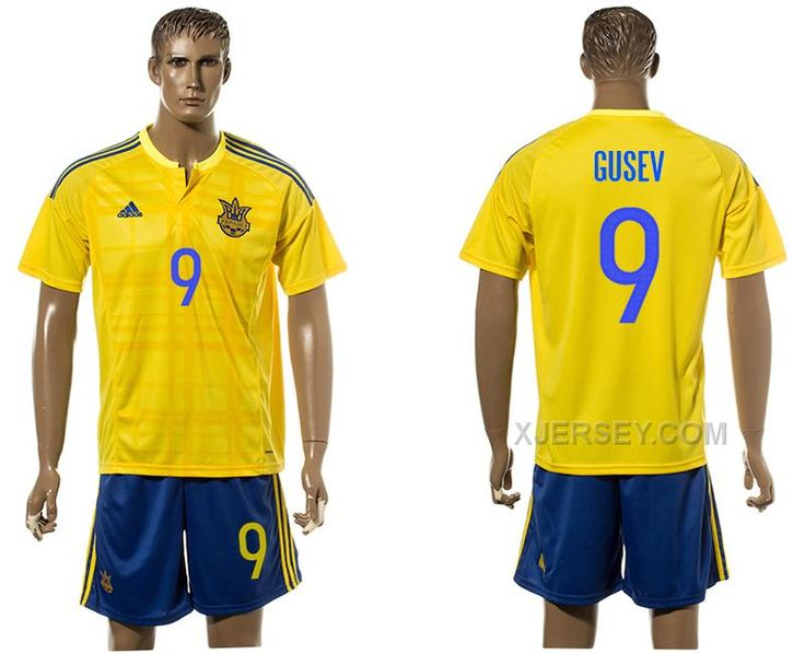 http://www.xjersey.com/ukraine-9-gusev-home-euro-2016-jersey.html UKRAINE 9 GUSEV HOME EURO 2016 JERSEY Only 33.11€ , Free Shipping!
