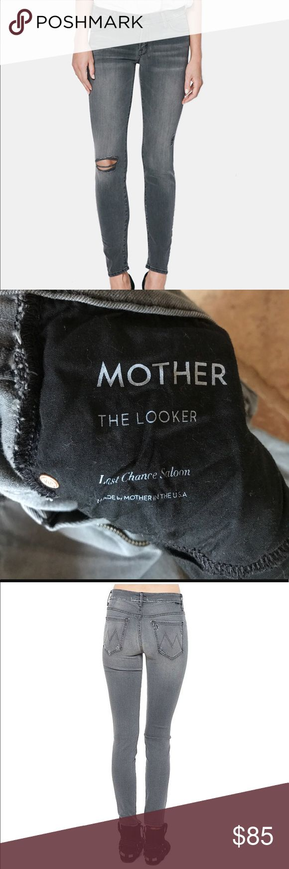 Mother the looker last chance saloon Mother jeans the looker last chance saloon. Any questions please ask. MOTHER Jeans Skinny