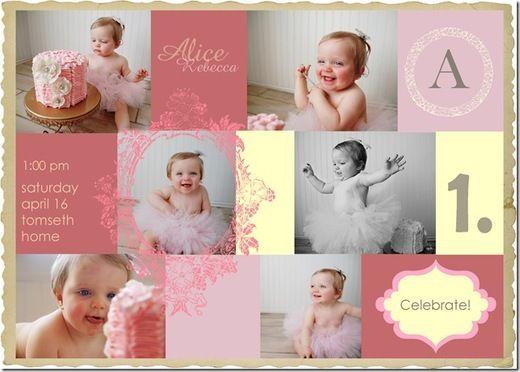 vintage invite: Pictures Ideas, Birthday Parties, B S Birthday, Infants Photos, 1St Birthday, Card, Photos Shoots, Photos 33, Parties Ideas