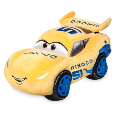 Cruz Ramirez Medium Soft Toy, Disney Pixar Cars 3