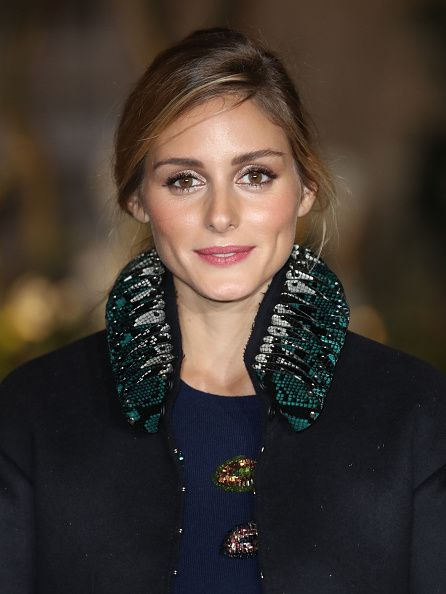 Olivia Palermo attends the Burberry show during London Fashion Week Spring/Summer collections 2016/2017 on September 19 2016 in London United Kingdom