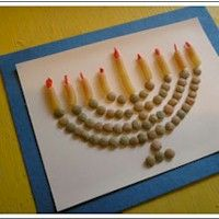 menorah for celebration of feasts of the Lord, no we are not jewish as we believe in Yeshua(Jesus) the Messiah but we do celebrate biblical feasts.Good craft for Faith when she gets older
