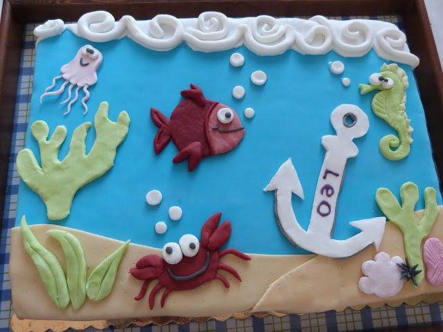Festa a tema marino