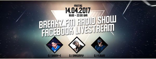 Tonight LIVE - 18:00 - 22:00  Tonight LIVE 🔴 BREAKZ.FM 18:00 - 22:00 4h SHOW 3 DJs  DJ Flowee | Deejay Dragonfly | DJ Skinny-E Video: Breakz.FM - Facebook Audio: Breakz.FM - Webradio  #Deejay #DjDragonfly #DJFlowee #DJSkinny-E #Internetradio #Liveshow #Mixshow #Radio #Video #Webradio #Musik #Hiphop #House #Webradio #Breakzfm