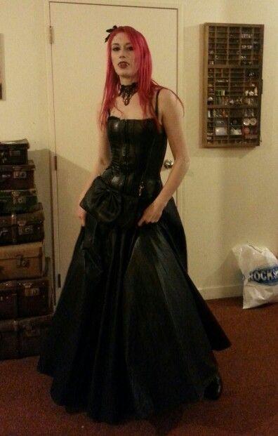 PVC vampire costume