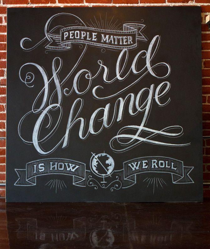 World Change / Drew Melton