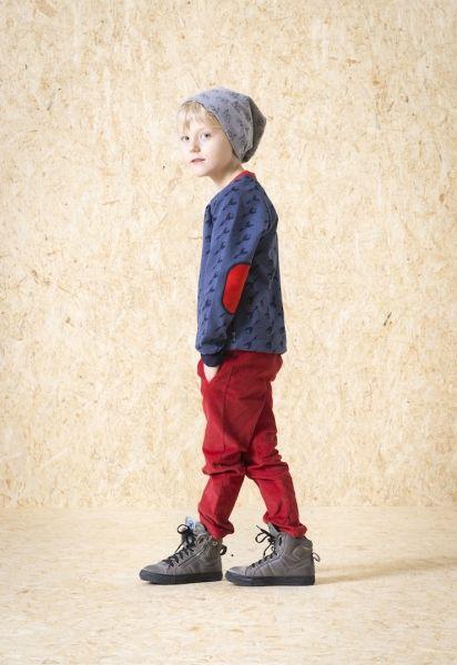 Sweatshirt met raketjes - L'asticot - Belleketrek.be - Online kinderkleding