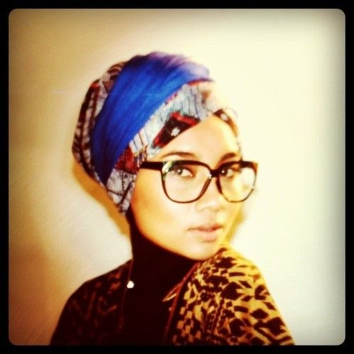 Obsessed with turbans and glasses right now...and together...(swwwwoooooonnnnnn) ♥