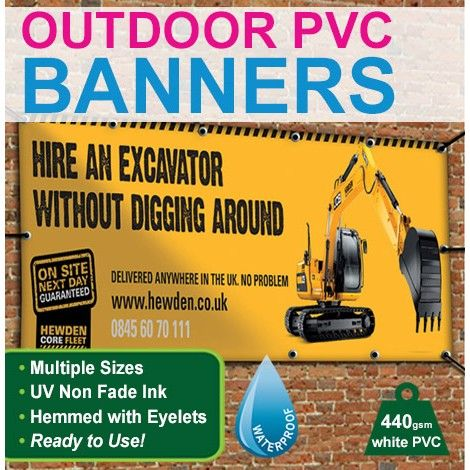 #Advertise your #business with full color #OutdoorPVCBanners available at Betterprinting...