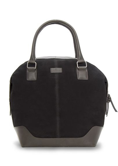 TOUCH - Two-tone suede tote, $99.99