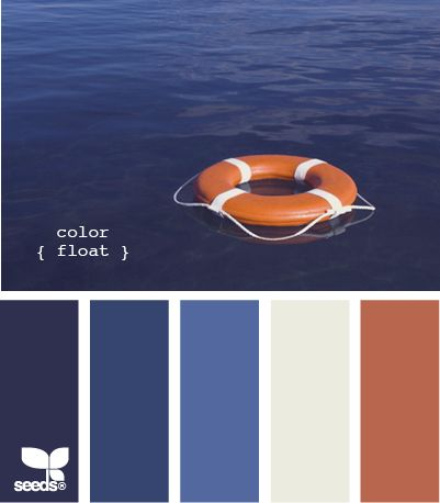 Salvavidas y mar.