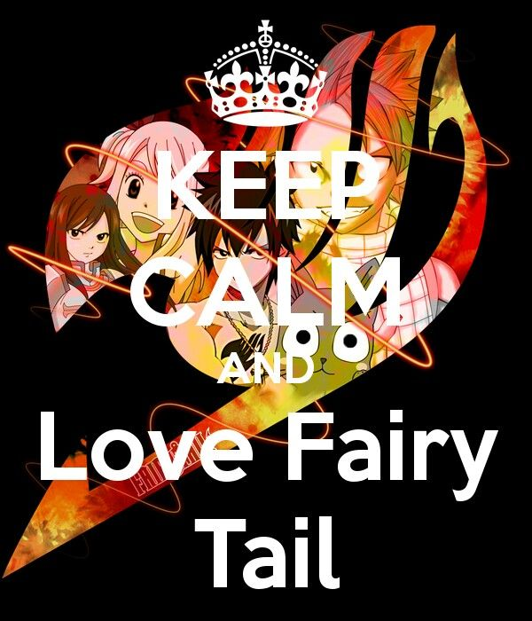 Keep calm and love Fairytail