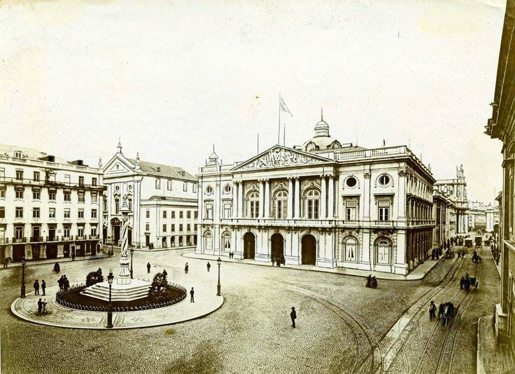 Praça do Município, 1900
