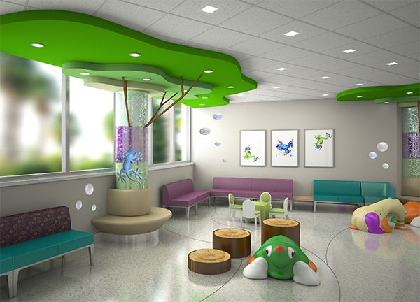 Pin by Tom Duke on Health Care Design for Kids  Clinic interior design Pediatrics Childrens