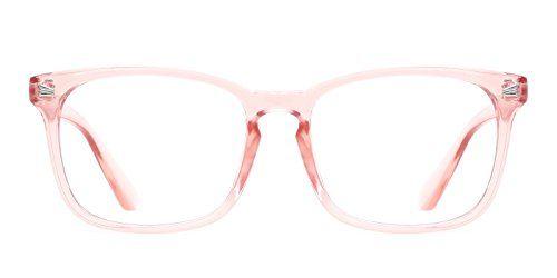 TIJN Unisex Wayfarer Non-prescription Glasses Frame Clear...