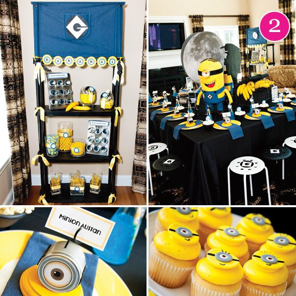 17 Best images about Despicable Me Party Inspiration on ...