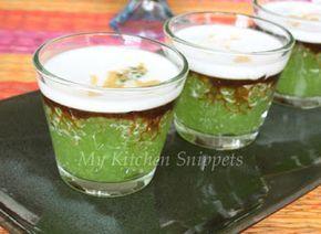 My Kitchen Snippets: Sago Gula Melaka/Sago Pudding with Palm Sugar Syrup