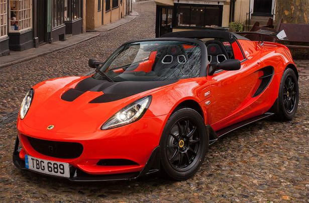 Lotus revealed today the Elise Cup 250, which is the fastest version of the small sports car ever built. The Lotus El.