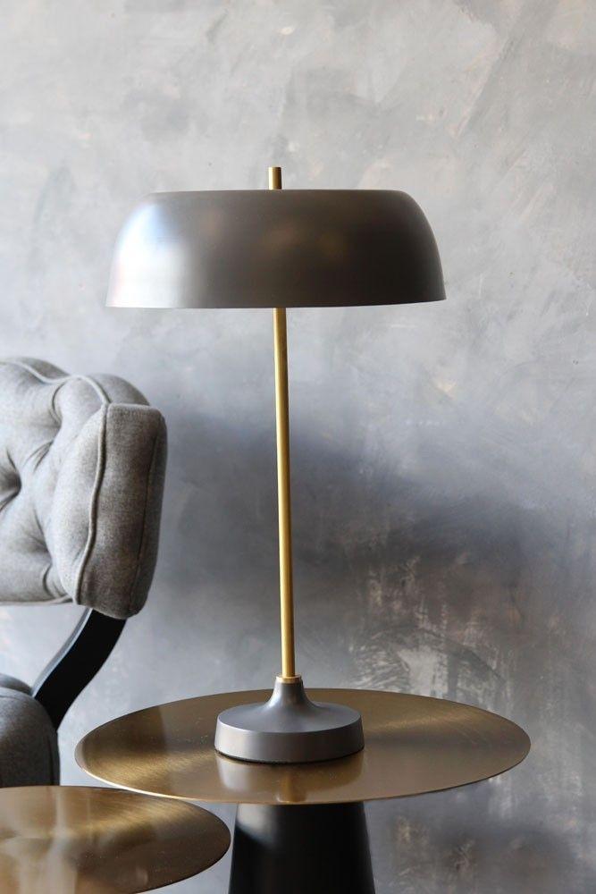 Ventura Lamp Dark Grey From Rockett St George Pink Table Lamp Cool Table Lamps Grey Table Lamps