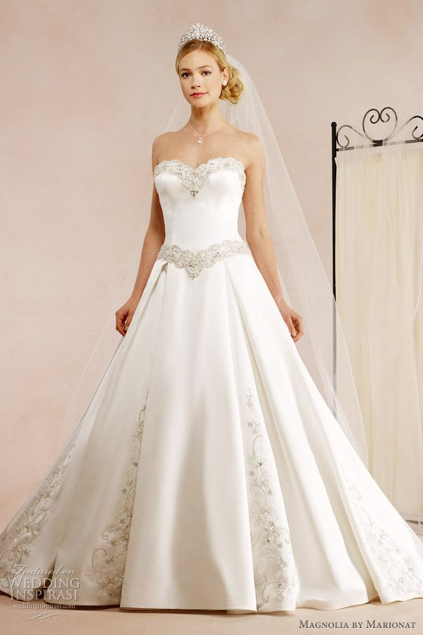 Princess Ball Gown Wedding Dresses | Magnolia By Marionat Fall 2012 Wedding Dresses | Wedding Inspirasi