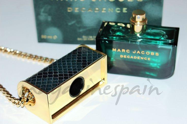 """Adriana Lima con """"Decadence"""", el nuevo perfume de Marc Jacobs decadence"""
