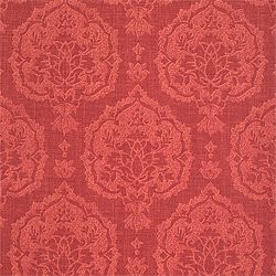 ISTANBUL DAMASK, Red, F97145, Collection Tamarind from Thibaut