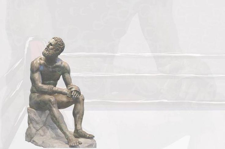 Seated Boxer ACU podcast Ap art history 250, Greek art