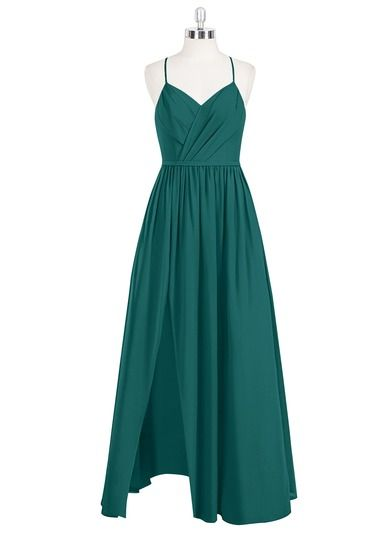 AZAZIE CORA. Cora is the perfect gown for anyone searching for a flirtatious look with just a touch of adventure. #Bridesmaid #Wedding #CustomDresses #AZAZIE