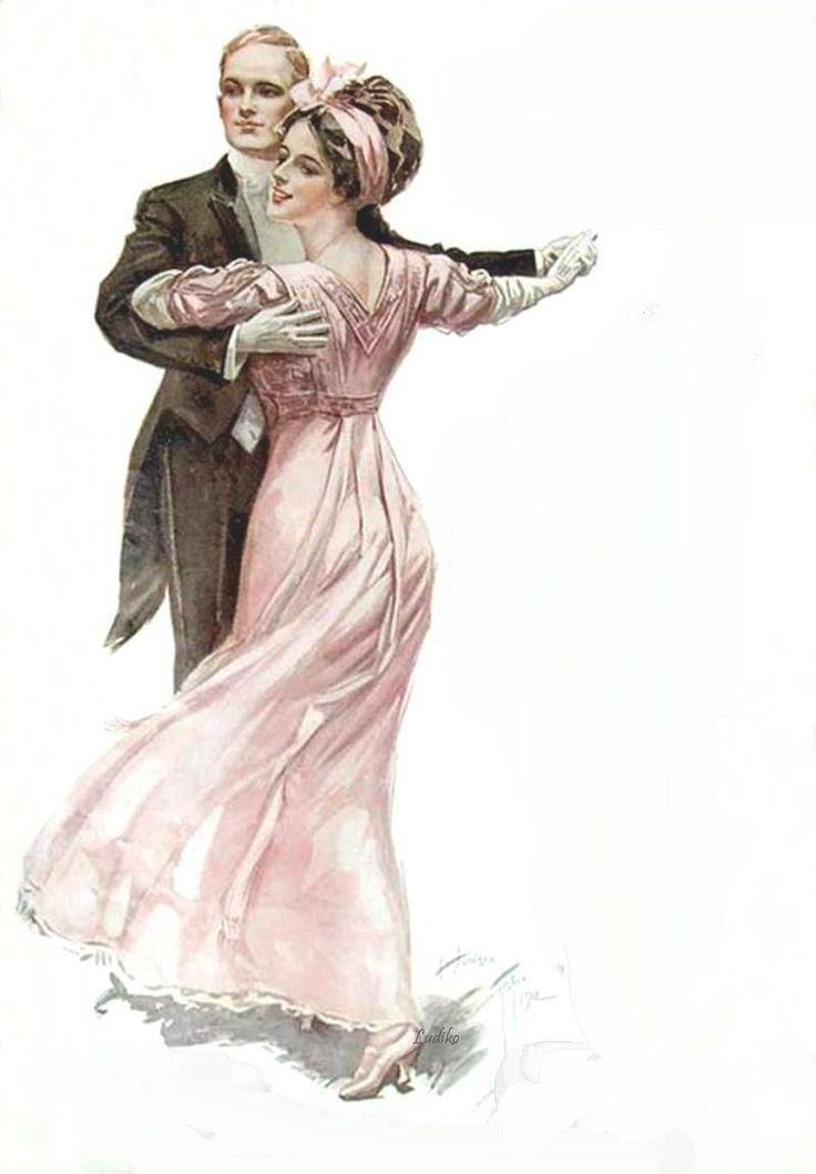 картинки для декупажа танцующие пары что мы