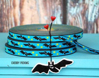 Ribbon Lovely Bat http://www.stationeryheaven.nl/ribbons