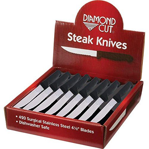 Diamond Cut CTDCS48 48 Piece Steak Knives in Countertop Display * Check out the image by visiting the link.Note:It is affiliate link to Amazon.