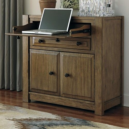 Ashley Furniture Washington Dc: Signature Design By Ashley Birnalla Secretary Desk With