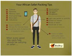 What you need to know about packing for an African Safari ... Read the full story: http://wild-wings-safaris.com/blog/what-you-need-to-know-about-packing-for-an-african-safari/