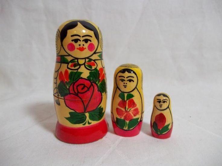 Матрёшки. Игрушки СССР - http://samoe-vazhnoe.blogspot.ru/