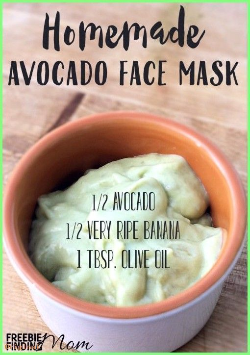 50+ Skin Care - Avocado Face Mask Homemade Recipe #beautyhacks #Sc ...  -  Hautpflege-Rezepte