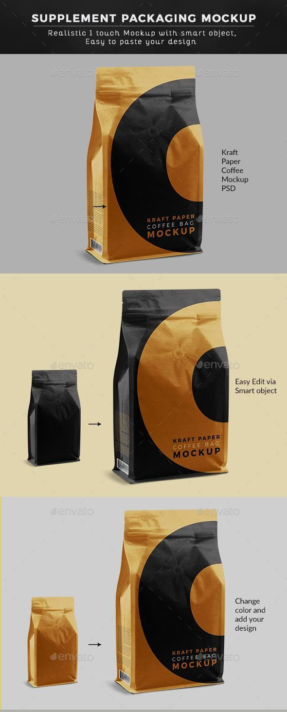 Download Mock Up Coffee Packaging Mockup Yellowimages