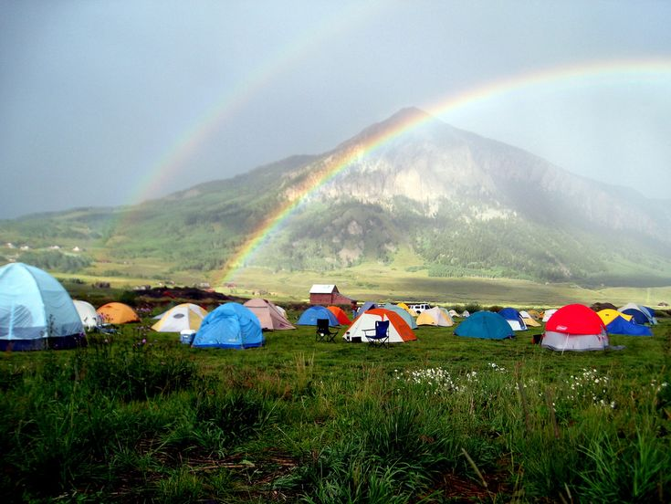 Summertime is the perfect time to pitch a tent, eat your weight in gooey s'mores, and visit these 10 unforgettable Colorado camping spots.