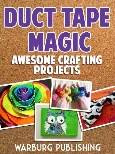 17 best images about duct tape on pinterest car for Duck tape craft book