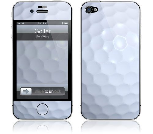 GelaSkins golf iPhone cover -- would make our Golf MTRx app look awesome!  #golf #golfapp
