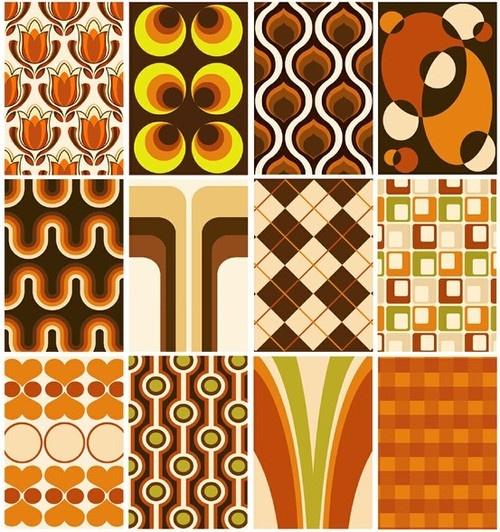 23 Best Retro Wallpaper Design Images On Pinterest