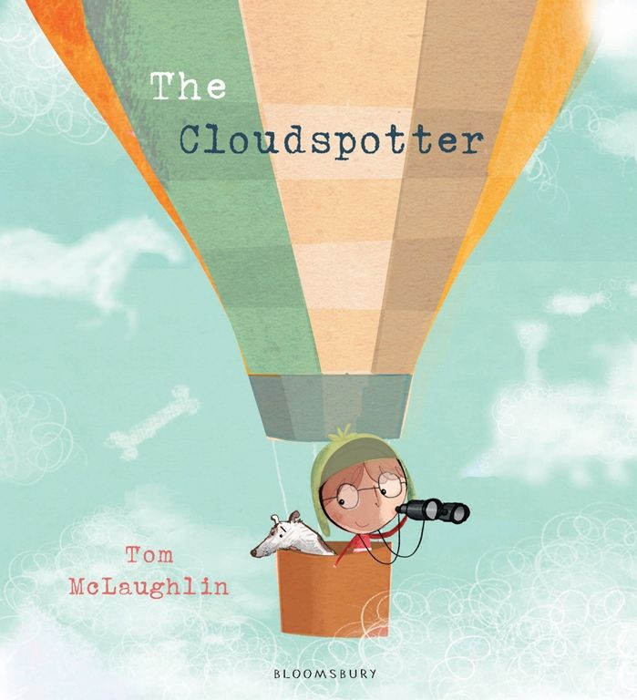 Tom McLaughlin, The Cloudspotter, Bloomsbury/Allen & Unwin, March 2016, 32pp., $15.99 (pbk), ISBN 9781408854976 Lonely young Franklin spends much of his time cloudspotting. Using his binoculars and imagination, he sees clouds shaped like mice, castles, racing cars, angry faces, ships and dolphins. He feels he always has company and exciting things to do but whenRead More