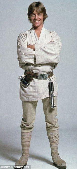 Mark Hamill as Luke Skywalker in STAR WARS (1977)
